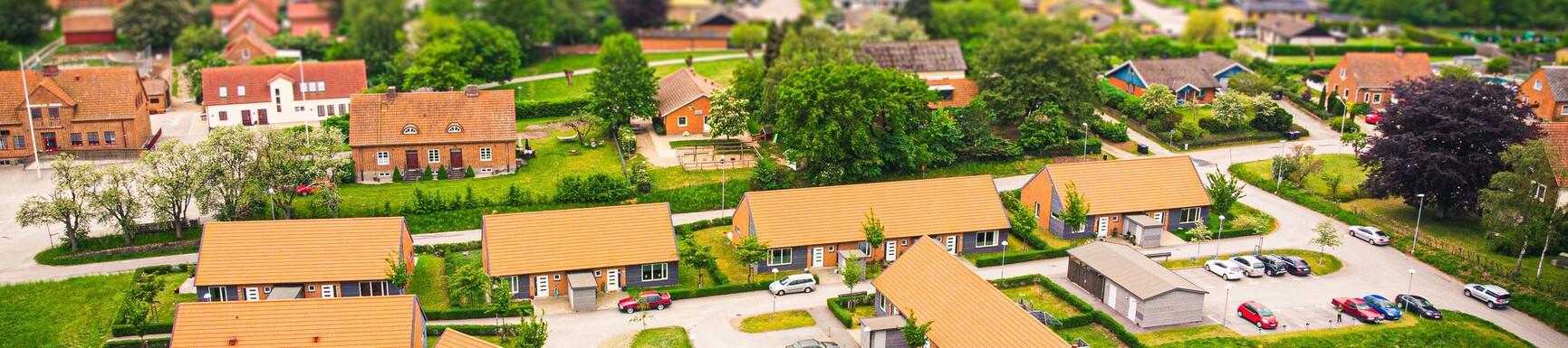 Bild på bostäder